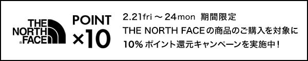 THE NORTH FACE × 10pt